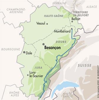 La Traversée des montagnes du Jura en vélo de Route